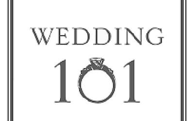 Wedding 101